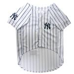 View Image 2 of New York Yankees Officially Licensed Dog Jersey - Pinstripe