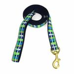 View Image 1 of Newport Plaid Dog Leash by Up Country