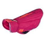 View Image 1 of Nimbus Puffer Dog Coat - Azalea and Hot Coral
