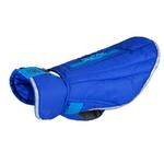View Image 1 of Nimbus Puffer Dog Coat - Royal Blue and Cyan