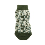 View Image 3 of Non-Skid Dog Socks by Doggie Design - Green Camo