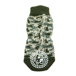 View Image 2 of Non-Skid Dog Socks by Doggie Design - Green Camo