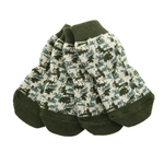 View Image 1 of Non-Skid Dog Socks by Doggie Design - Green Camo
