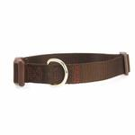 View Image 1 of Nylon Dog Collar by Zack & Zoey - Chocolate