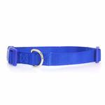 View Image 1 of Nylon Dog Collar by Zack & Zoey - Nautical Blue