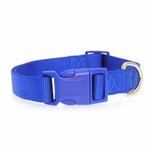 View Image 2 of Nylon Dog Collar by Zack & Zoey - Nautical Blue
