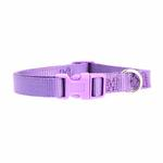 View Image 2 of Nylon Dog Collar by Zack & Zoey - Ultra Violet