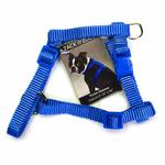 View Image 1 of Nylon Dog Harness by Zack & Zoey - Nautical Blue