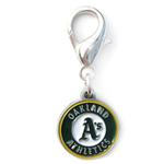 View Image 1 of Oakland Athletics Logo Dog Collar Charm