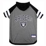 View Image 1 of Oakland Raiders Hooded Dog T-Shirt