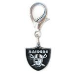 View Image 1 of Oakland Raiders Logo Dog Collar Charm