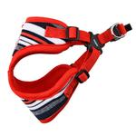 View Image 2 of Oceane Comfort Dog Harness by Puppia - Red