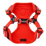 View Image 3 of Oceane Comfort Dog Harness by Puppia - Red