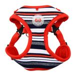 View Image 1 of Oceane Comfort Dog Harness by Puppia - Red