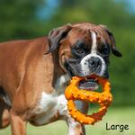 View Image 2 of Octopus Retrieval Ball by Major Dog-Orange