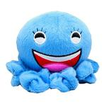 View Image 1 of Octopus Squeaky Dog Toy - Blue