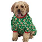 View Image 1 of Oh Snap! Gingerbread Dog Pajamas - Green
