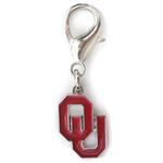 View Image 1 of Oklahoma Sooners Dog Collar Charm