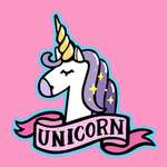 View Image 2 of Unicorn Dog Shirt - Pink
