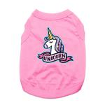 View Image 1 of Unicorn Dog Shirt - Pink