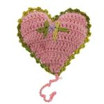 View Image 2 of OoMaLoo Handmade Catnip Heart Cat Toy