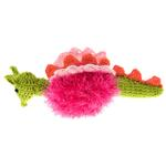 View Image 1 of OoMaLoo Handmade Dragon Dog Toy - Pink