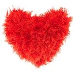 View Image 1 of OoMaLoo Handmade Heart Dog Toy