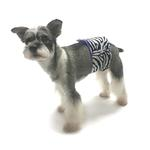 View Image 2 of Oscar Newman Wild Child Dog Belly Band - Zebra
