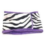View Image 1 of Oscar Newman Wild Child Dog Belly Band - Zebra