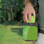 View Image 2 of Outward Hound Treat 'N Ball Bag - Green and Black