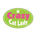 View Image 1 of Crazy Cat Lady Oval Magnet