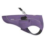View Image 2 of Overcoat Fuse Dog Jacket by RuffWear - Purple Sage