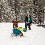View Image 5 of Pacific Ring Dog Toy by RuffWear - Tumalo Teal