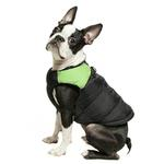 View Image 1 of Padded Dog Harness Vest by Gooby - Green/Black