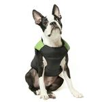 View Image 2 of Padded Dog Harness Vest by Gooby - Green/Black