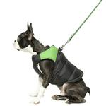 View Image 3 of Padded Dog Harness Vest by Gooby - Green/Black
