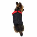 View Image 2 of Padded Dog Harness Vest by Gooby - Red/Black