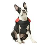 View Image 6 of Padded Dog Harness Vest by Gooby - Red/Black