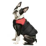View Image 5 of Padded Dog Harness Vest by Gooby - Red/Black