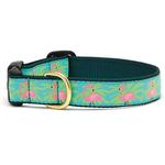 View Image 1 of Flamingo Dog Collar by Up Country