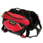 View Image 4 of Palisades Backcountry Dog Pack by RuffWear - Red Currant