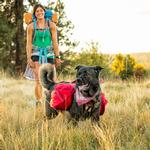 View Image 2 of Palisades Multi-Day Dog Pack by RuffWear - Red Currant