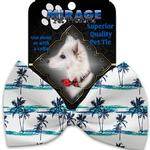 View Image 2 of Palm Tree Paradise Dog Bow Tie