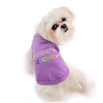 View Image 1 of Pampered Poochie Dog Tank by Parisian Pet - Purple