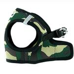 View Image 1 of Parisian Pet Mesh Step-In Dog Harness - Camo