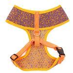 View Image 2 of Parisian Pet Sport Net Dog Harness - Orange/Blue