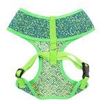 View Image 2 of Parisian Pet Sport Net Dog Harness - Green/Blue