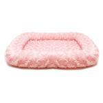 View Image 1 of Parisian Pet Sweetheart Dog Crate Mat - Pink