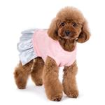 View Image 4 of Party Princess Dog Dress by Dogo - Pink