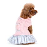 View Image 2 of Party Princess Dog Dress by Dogo - Pink